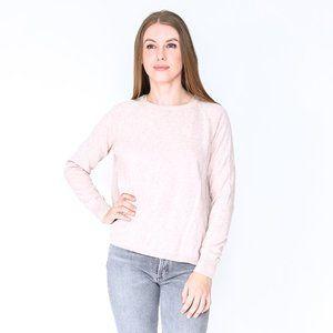 GORMAN Musk Pink Knit Cotton Stacey Jumper NWT
